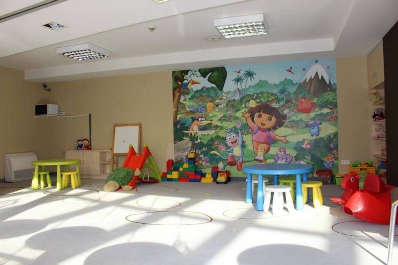 baby gaming room